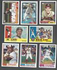 2017 TOPPS ARCHIVES - (STARS, ROOKIE RC'S, HOF)  -WHO DO YOU NEED!!!Baseball Cards - 213