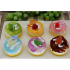 Artificial Small Mousse Cake Kitchen Bowl Decor for Party, 6 Color Available