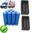 6000mAh 18650 Battery Charger 3.7V Rechargeable For Flashlight Torch Batteries #