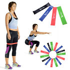 Multi Resistance Loop Latex Home Gym Fitness Exercise Yoga Workout Heavy Band image