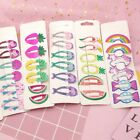 6x Girls baby Hair Clips Snaps Hairpin Girls Baby Kids Hair