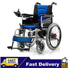 New Folding Safe Power Electric Wheelchair Elderly Disabled Scooter Dual Motors