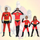 The Incredibles Family Cosplay Costume Elastigirl Violet Par