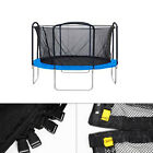 Replacement Trampoline Safety Net Enclosure Surround Netting 12 14 15 Ft TOP image