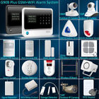 New G90B Plus WiFi GSM SMS Wireless Home Alarm Security System Accessories Lot