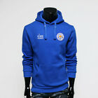 Leicester City FC Hoodie Fleece Men's Hoody Soccer Team Blue Sweatshirts