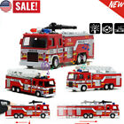 1:32 Model Toy Aerial Rescue Fire Truck Car Kids Educational Christmas Toys Gift