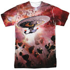 Authentic Star Trek TNG Continuing Mission NCC-1701 Sublimation Front T-shirt on eBay