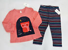 NWT Baby Gap Girl Size 6 12 18 24 Months Pink Owl Up All Nig