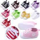 US Infant Toddler Baby Unisex Soft Sole Crib Shoes Sneaker N