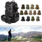 Pouch Camping Hiking Trekking Outdoor 60L Military Tactical Molle Backpack Bags