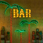 Deluxe Tropical LED Lighted Palm Tree Rope Light Holographic Trunk