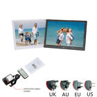 "15.4/13/10/8/7"" Digital Photo Frame Album HD Display MP4 Picture Player W/Remote"