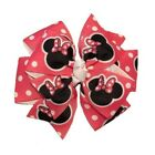Pink Minnie Mouse Pinwheel Hair Bow
