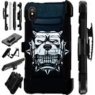 Lux-Guard For iPhone 6/7/8 PLUS/X/XR/XS Max Phone Case Cover MAD DOG WHITE