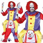 Carry Me Step In Ride On Horror Circus Clown Funny Halloween Fancy Dress Costume
