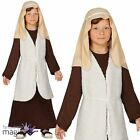 New Child Boys Girls Shepherd Nativity Christmas Play Fancy Dress Costume Outfit