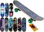 New Mini Kids Junior Beginner Skateboard Cool Graphics Complete Ready To Ride