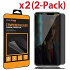 2X HD Privacy Anti-Spy Tempered Glass Screen Protector for iPhone Xs /Xs Max /XR