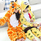 New Kids Cosplay Anime Pyjamas Costume Hoodies Animal Suits Unisex Fancy Dress