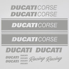 Ducati Corse sticker pegatina lado 1199 848 1098 1198 899 racing team moto