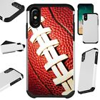 FusionGuard For iPhone 6/7/8 PLUS/X/XR/XS Max Phone Case FOOTBALL