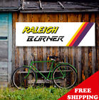 RALEIGH BURNER Banner Vinyl or Canvas Advertising Garage Sing Poster MANY SIZES
