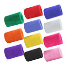 2 /4 /6 Pack Men Women's Sweat-absorbent Wristband Sports Sweatband Tennis Band image