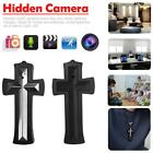 8GB Cross Pendant Necklace Hidden Mini DVR Camera Cam Video Audio Recorder.
