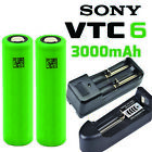 Sony VTC6 NMC 18650 3000mAh 30A Rechargeable High Drain Battery Vape1 Mods LOT