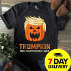 Trumpkin Make Halloween Great Again Funny Trump Men Shirt Cotton Size S to 3XL