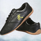 Wushu Chi Leather Shoes Black Men's Arts Mens Martial Kung Sneakers Cow Soft