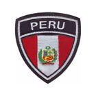 Peru Flag Crest Embroidered Patch