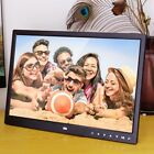 "12/14/15"" HD Digital Photo Frame Album Picture MP4 Movie Player Remote Control H"