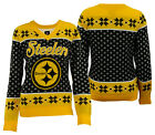Forever Collectibles NFL Women's Pittsburgh Steelers Big Logo V-Neck Sweater $34.99 USD on eBay