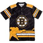 Forever Collectibles NHL Men's Boston Bruins Short Sleeve Thematic Polo Shirt $39.99 USD on eBay