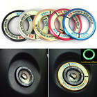 5 Colors Luminous Alloy Car Ignition Switch Cover Stickers Car Accessories