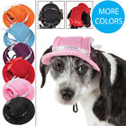 Внешний вид - Pet Life 'Sea Spot Sun' UV Protectant Fashion Mesh Brimmed Pet Dog Hat Cap
