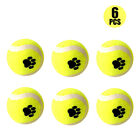 Pet Mini Tennis Balls Small Dog&Puppy Bite Mini Ball Doggie Teething Ball 3/6PCS