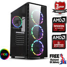 Ultra Fast Amd Quad Core Radeon Hd 8gb Ddr4 1tb Gaming Pc Computer Raider Rgb