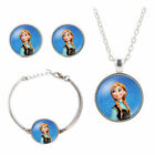 Girls Princess Disney Jewelry set bracelet necklace earrings Birthday party gift