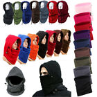 Unisex Mask Windproof Face Balaclava Neck Warm Fleece Winter Hat Skiing Skating
