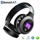 Bluetooth 4.1 Wireless Stereo Headphones Foldable Headset Super Bass Earphones