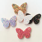 Внешний вид - New 16pcs Felt Fabric Glitter Paillette Butterfly Patches Appliques wedding DIY