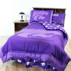 Kansas State Wildcats Comforter Sets Choice of 5 Combinations TFQK