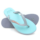 New Waves Bubble Coral Twofold Women's Rubber Flip Flops - Gym Shower Summer
