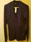 Banana Republic Women's Blouse Purple size Lg