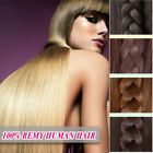 Invisible 100% Human Hair Remy Extensions Wire Elastic In Extensions 10-22 inch