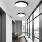 LED Flush Ceiling Light Ultra Thin 18W 24W 36W Black/White Shape  Down Lamp