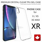 Thin Slim Case For iPhone X XS MAX XR Shockproof Silicone Protective Cover CA